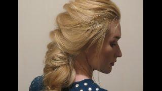 Видео урок 8. Коса при помощи силиконовых резинок.