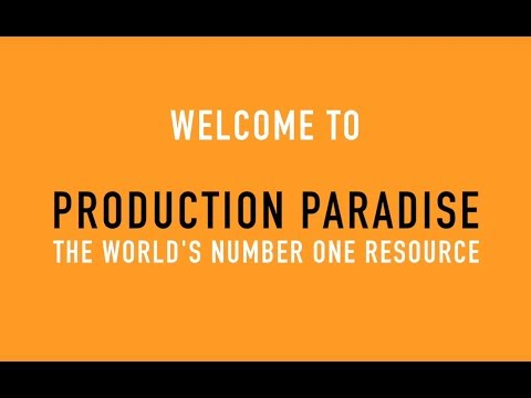 How does Production Paradise work? 1 min overview of the main features and perks