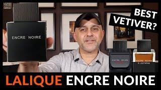 Lalique ENCRE NOIRE vs ENCRE NOIRE SPORT vs ENCRE NOIRE A L'EXTREME