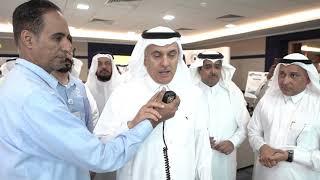 معالي وزير البيئة والمياه والزراعة يقف على خدمات المياه المقدمة لحجاج بيت الله الحرام