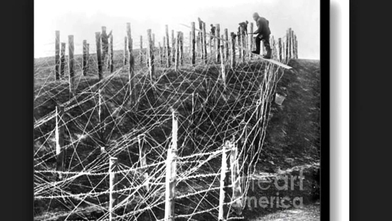 Ww barbed wire youtube