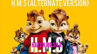 H.M.S  Alternate Version  COVER ALVIN THE CHIPMUNKS