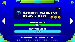 Geometry Dash Remix | Stereo Madness - Fake -