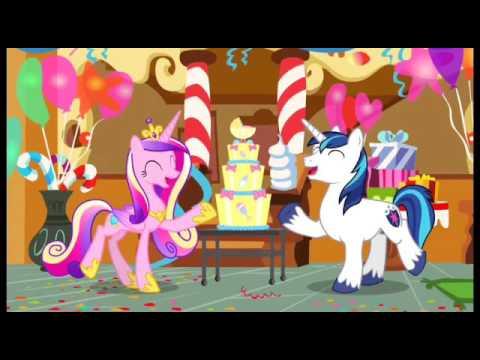 Twilight se entera del bebe de cadence My Little Pony Cuando