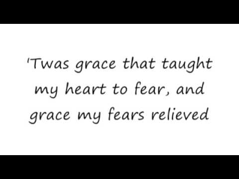 Amazing Grace My Chains Are Gone Chris Tomlin 16x9 lyrics