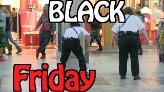 BLACK FRIDAY PRANKS!!! PRANKING SECURITY! Kicked out of MALL! $20 PRANK