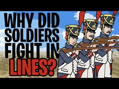 Why Did Soldiers Fight In Lines? | Animated History