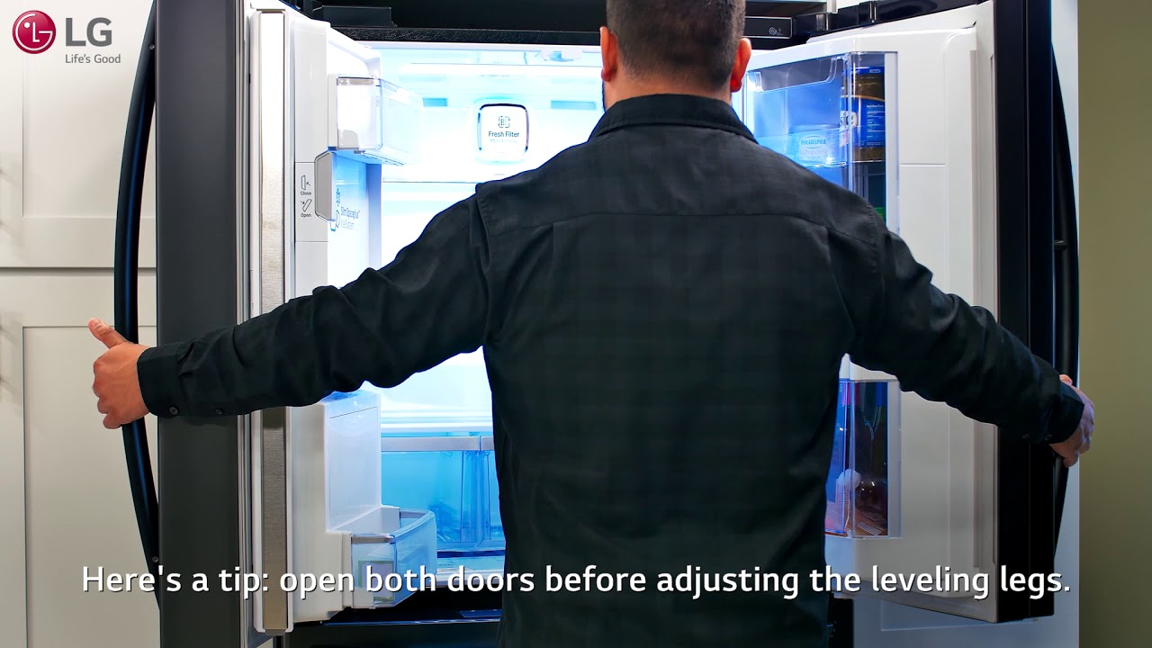 Lg Refrigerator Level To Reduce Common Issues
