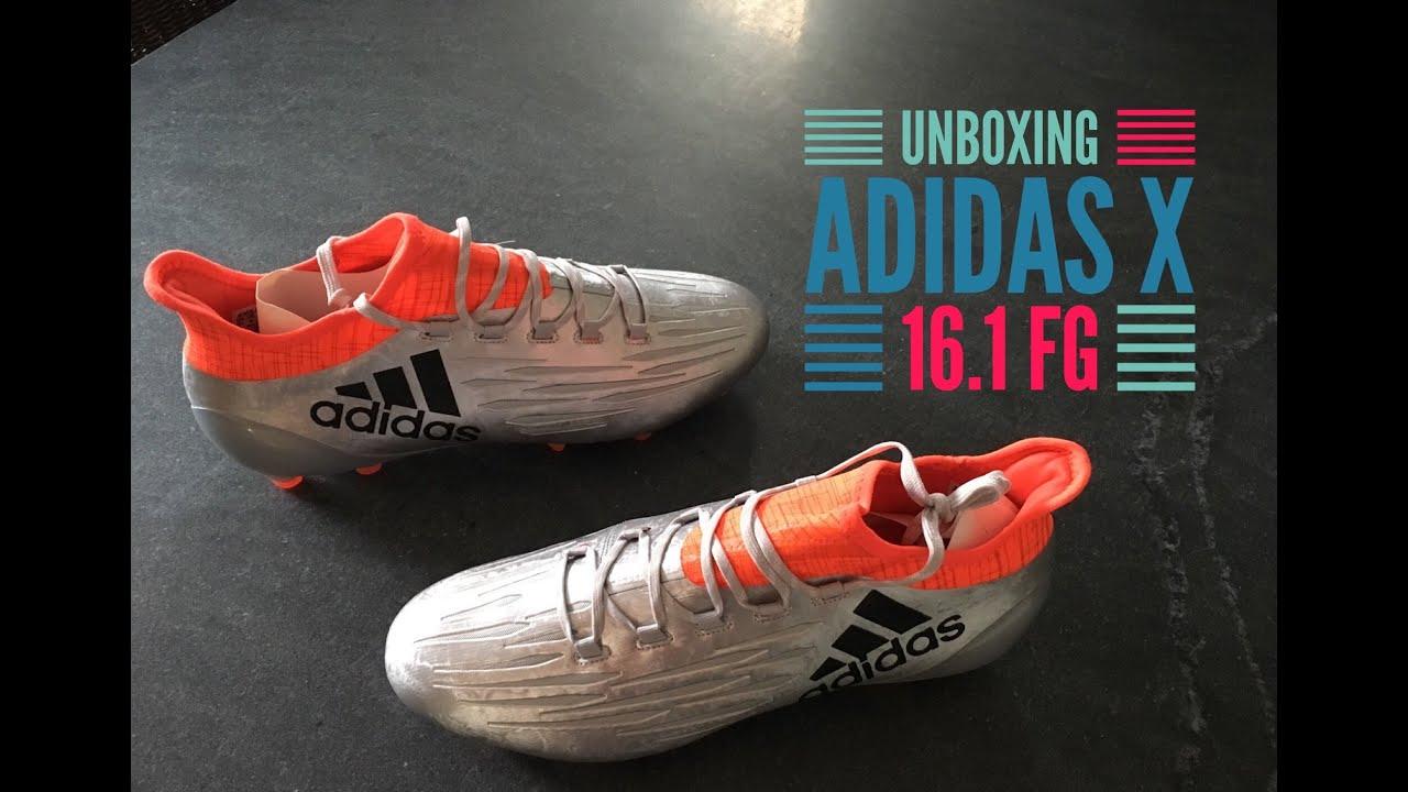 7831c32f2d9 Adidas X 16.1 FG Football Shoes