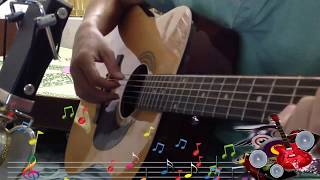 HAI MÙA MƯA  | guitar cover  | bolero (Quá Hay)