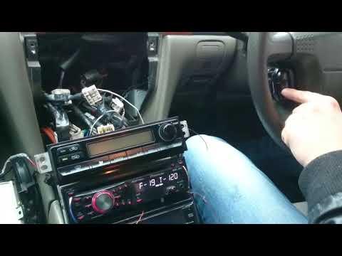 Nissanl Laurel Управление магнитолой Pioneer на руле