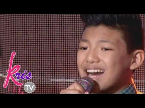 Darren sings his version of Maghintay ka lamang