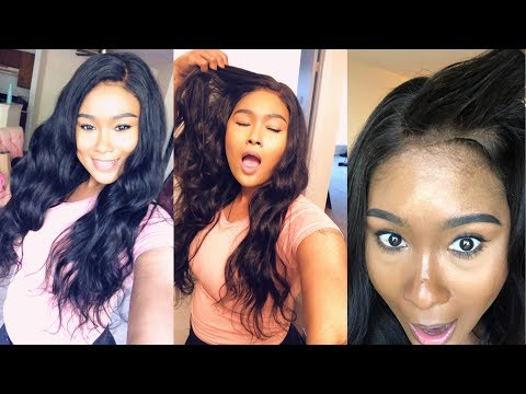 Honest Tinashe Hair review Affordable Brazilian body Wave hair