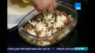 مطبخTEN   لازانيا البطاطس-سلطة الكرنب الاحمر بالجريب فروت-شيزي شيكولاتة موس   16اغسطس