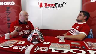 The Third Half. Weekly football debate show from Boro Fan TV. Series 1 Episode 1