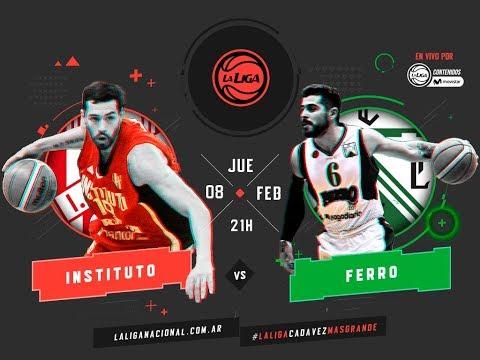 Liga Nacional: Instituto vs. Ferro | #LaLigaEnTyCSports