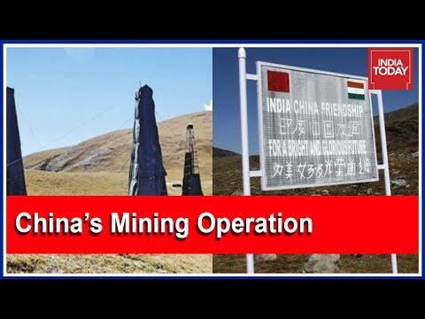 China Begins Large Scale Mining Operations In Arunachal Pradesh Border