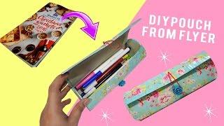DIY Pouch  DIY Pencil Case - MissDebbieDIY