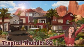 The Sims 3 House building - Tropical Thunder 30