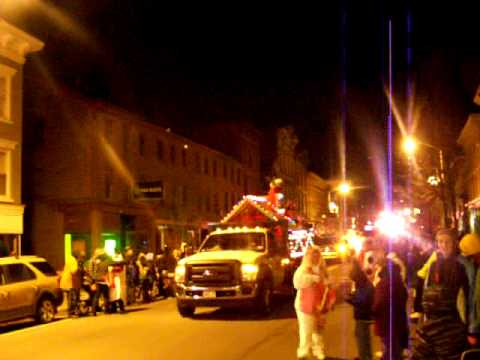catskill parade of lights in catskills ny 2013