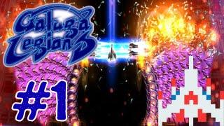 Galaga Legions DX - Gameplay Walkthrough Part 1 - Area 01 (Xbox 360, Windows Phone, PS3,)