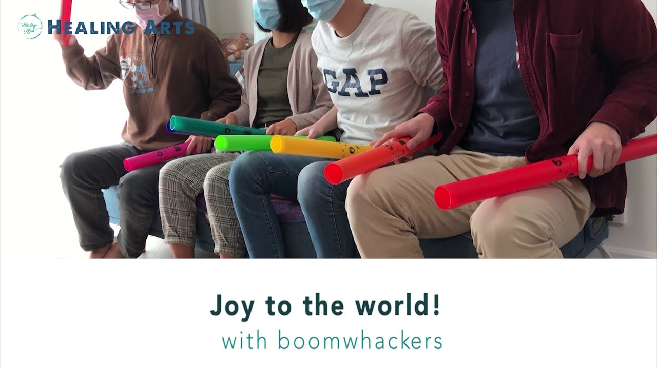 【七色音樂】Joy to the World - 律音管 boomwhackers (附教學)