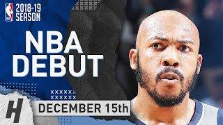 Jevon Carter Defense vs Harden & Chris Paul - Grizzlies vs Rockets 2018.12.15 - NBA DEBUT!