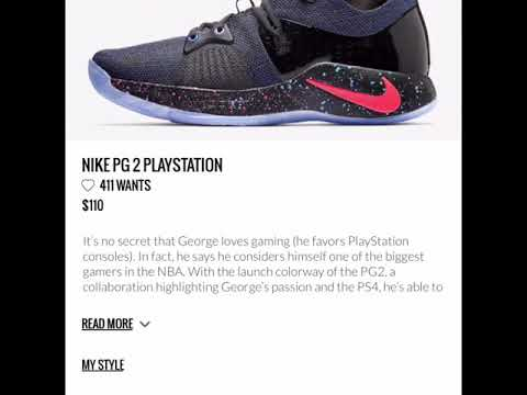 Nike Pg2 PlayStation review and release dates !