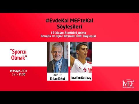 """EvdeKal MEFte Kal Söyleşileri - 15 """"Sporcu Olmak"""""""