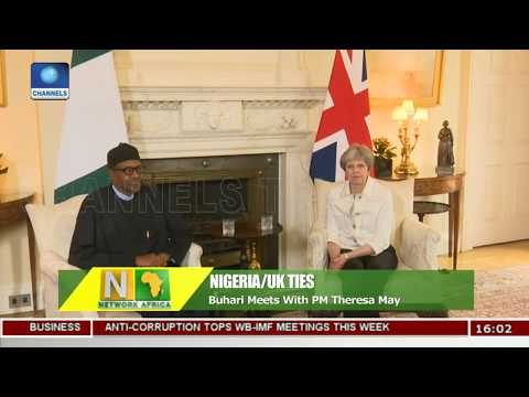 Buhari Meets With PM Theresa May |Network Africa|