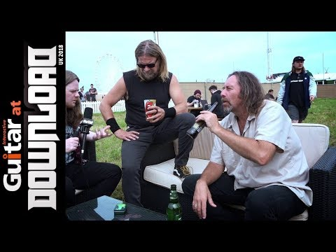 Pepper Keenan & Woody Weatherman Interview - Corrosion Of Conformity | Download Festival 2018