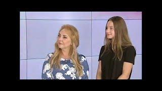 Анжелина Микульская и Акулина Андреева в программе «Афиша» на «БелМузтв»