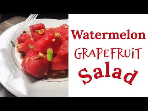 Watermelon Grapefruit Salad