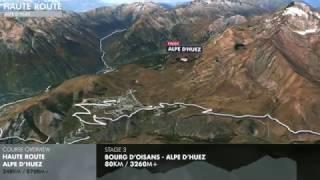 Haute Route Alpe d'Huez 2017 3D Course