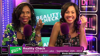 Reality Check w/ Lauren Lake | September 26th, 2014 | Black Hollywood Live