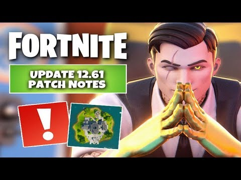 Fortnite 12.61 Update PATCH NOTES (When Are The Storm The Agency Challenges Coming Out?)