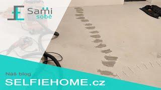 Sami Sobě - Oprava prasklého betonu v podlaze