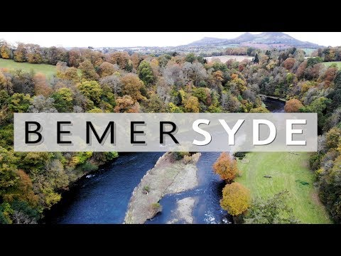 Salmon Fishing: Bemersyde On The River Tweed Scotland