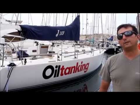 Cavitcleaner - underwater Hull cleaning by cavitation - easy 220 used on Juno sailing yacht
