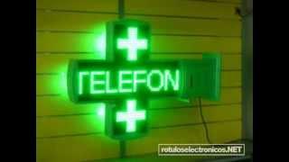 cruz verde de farmacia de ROTULOSELECTRONICOS.NET