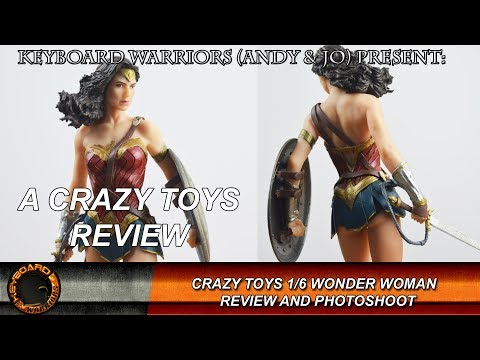 "Crazy Toys DC Wonder Woman Action Figure 1//6TH  Figurine 12/"" Collection Statue"