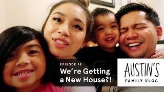 We're Getting a New House?! | Austin Vlog | HiHo Kids