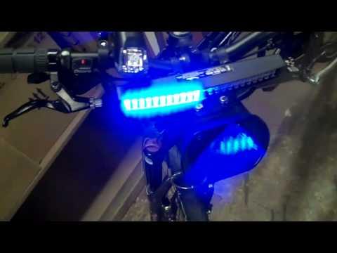 Bike emergency lights