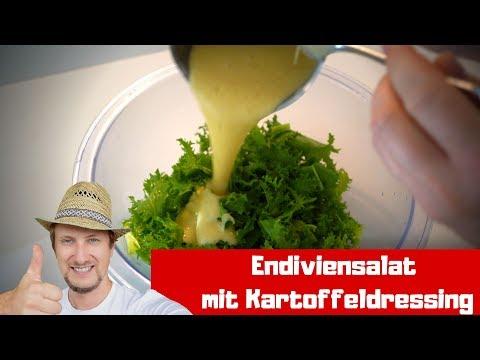 Endiviensalat Rezept Mit Kartoffeldressing 🔴 Frisch Vom Balkon