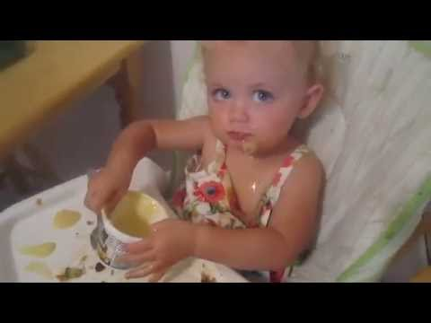 Vegan Babies Eat Dinner and Papa Gets Busted