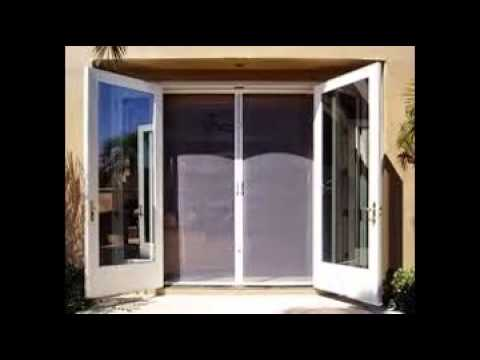 Retractable screen door youtube for What is the best retractable screen door