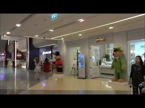 Mercury Ville Shopping Mall at Chit Lom skytrain Station, Bangkok, Thailand
