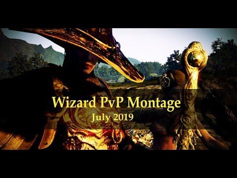 BDO – Wizard PvP Montage – Ft Warm Up