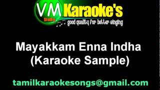 Mayakkam Enna Karaoke