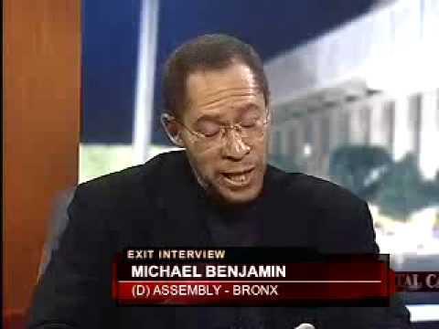 Capitol Tonight Exit Interview: AM Michael Benjamin
